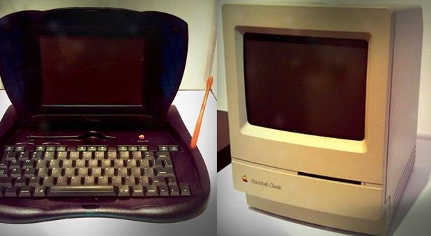 Alte Macintosh-Computer gibt es mittlerweile nur noch im Museum zu sehen.