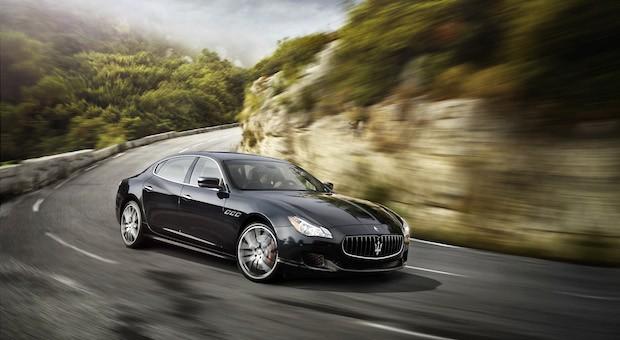Kommt mit Allradantrieb daher: der neue Maserati Quattroporte Q4.
