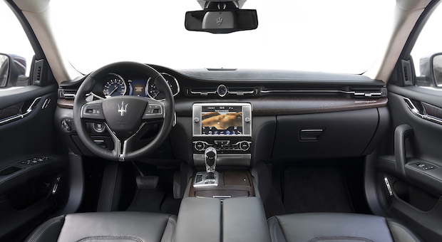 Der Innenraum des Maserati Q4.