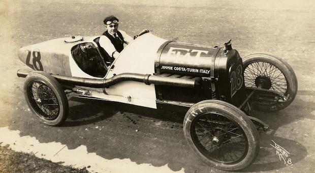 Der Autorennfahrer Jimmie Costa, 1921
