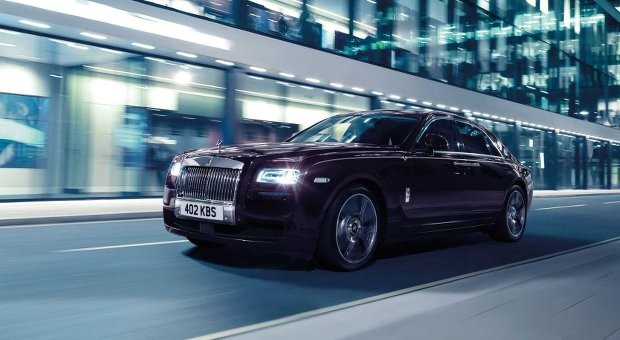 Hat jede Menge Power: die Rolls-Roycd Sonderedition Ghost V-Specifiation.