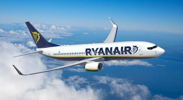 Ein Flugzeug der Billigairline Ryanair.