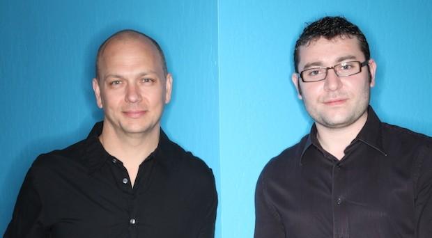 Die Nest-Gründer Tony Fadell (l.) und Matt Rogers