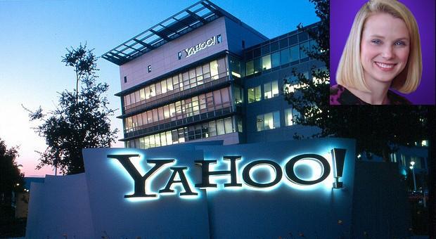 Der Yahoo-Hauptsitz in Sunnyvale, Californien