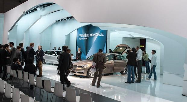 Weltpremiere von BMW auf dem Autosalon in Genf im vergangenen Jahr