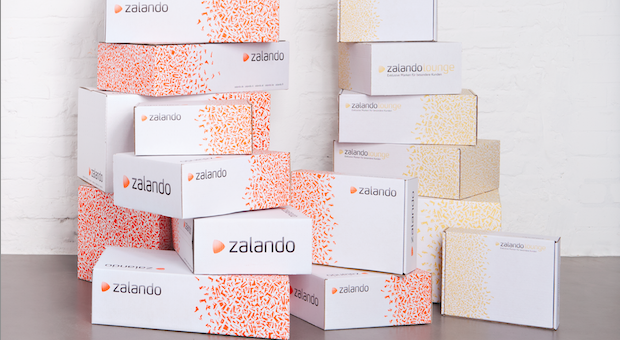 Pakete von Zalando.