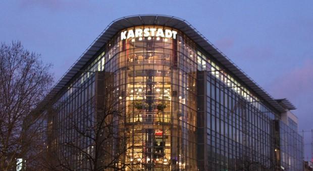 Eine Karstadt-Filiale in Hannover