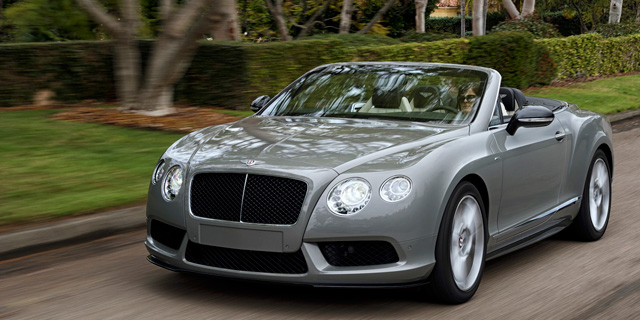 Das neue Bentley Continental GT V8 S Cabrio.