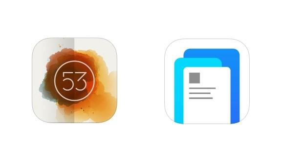 Streit um Produktnamen: Die App Paper by FiftyThree (l.) und die neue Facebook-App
