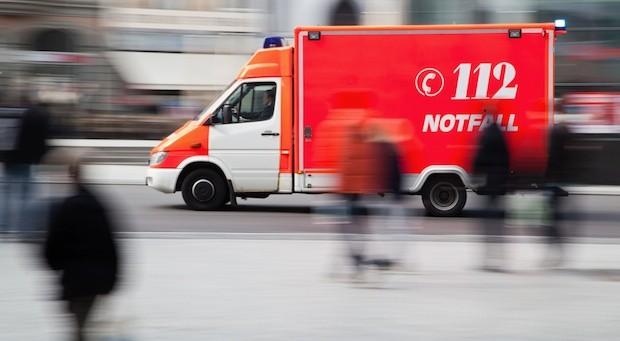 Rettungswagen, Notarzt, Blaulicht