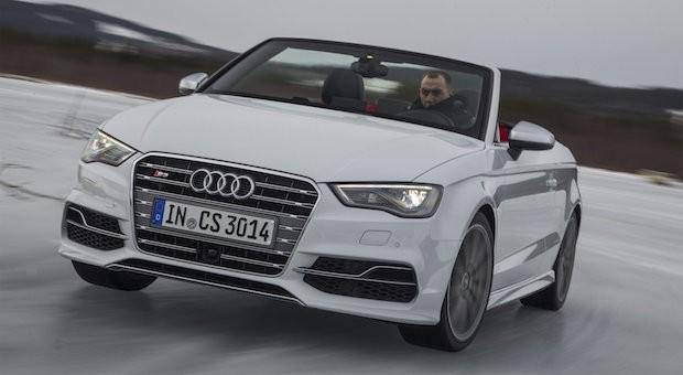 Macht Frühlingsgefühle: das Audi S3 Cabrio.