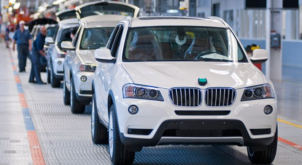 Produktion des BMW X3 in Spartanburg im US-Bundesstaat South Carolina