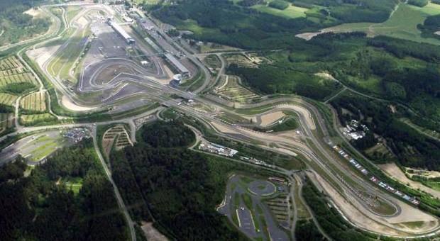 Der Nürburgring aus der Vogelperspektive.