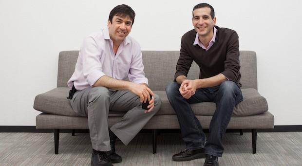 Tango-Gründer Uri Raz (l.) und Eric Setton