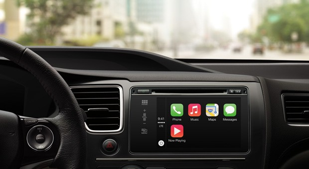 Touch-Systeme für's Auto - im Bild Apples Carplay - werden immer beliebter.