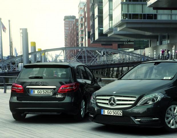 Carsharing auch für Firmenflotten? Daimler denkt darüber nach.