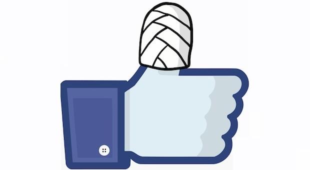 Autsch! Unternehmer sollten sich mit den rechtlichen Grundlagen von Social Media beschäftigen, sonst kann das Engagement bei Facebook schmerzhafte Folgen haben.