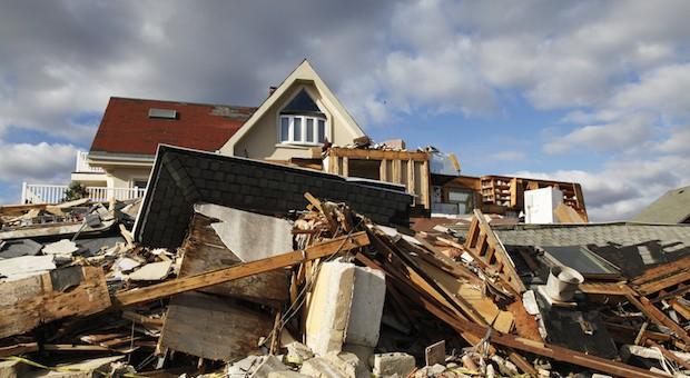 Nach Hurrikan Sandy blieb in den betroffenen US-Gebieten extreme Verwüstung zurück