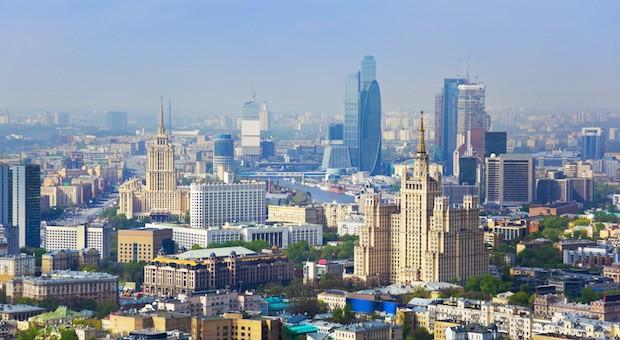 Das Zentrum von Moskau