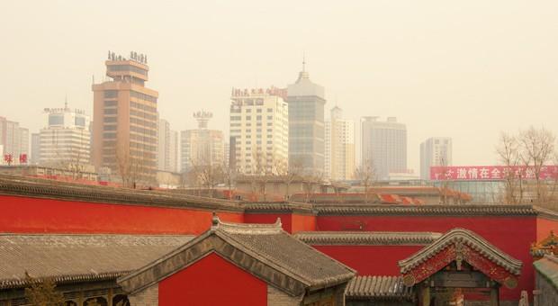 Dicke Luft: Nicht nur Chinas Hauptstadt Peking hat mit Luftverschmutzung zu kämpfen.