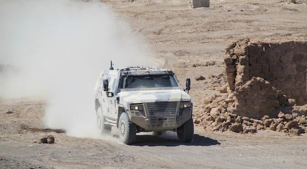 Das Funktionsfahrzeug AMPV von Rheinmetall. In Russalnd errichtet der Konzern eine Trainingsbasis.