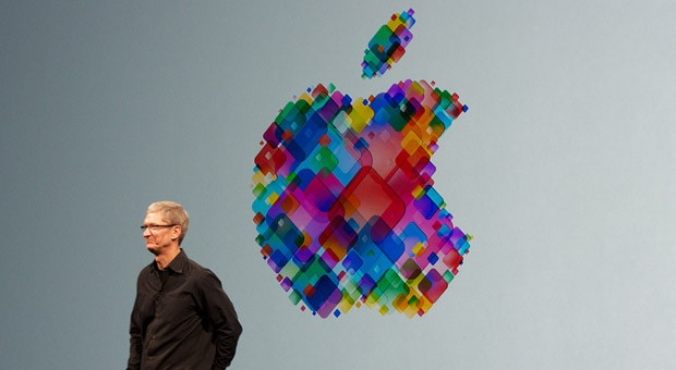 Apple-Chef Tim Cook auf der Worldwide Developers Conference.