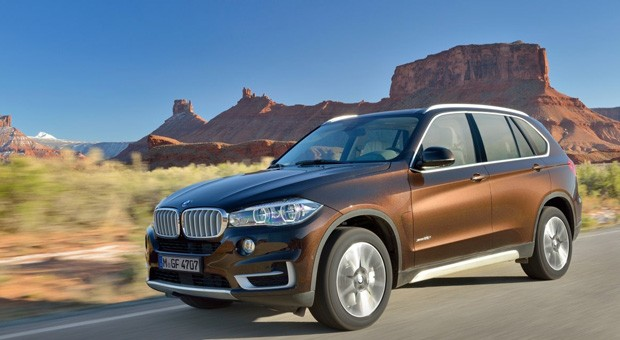 Beliebtes Diebesgut: der BMW X5.
