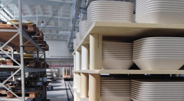 Produktion beim Porzellanhersteller Kahla