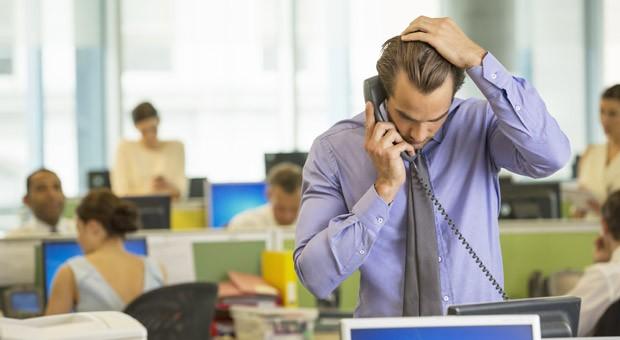 Lärm im Büro sorgt für Stress und senkt die Produktivität