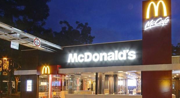 Eine Filiale der Fastfood-Kette McDonald's