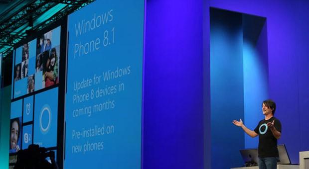 Microsoft-Manager Joe Belfiore kündigt auf der Entwicklerkonferenz Built in San Francisco Updates für das Windows Phone und Windows 8.1 an.