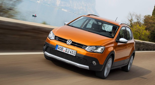 Der neue CrossPolo von Volkswagen.