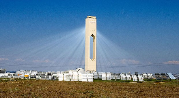 Ein Turmkraftwerk