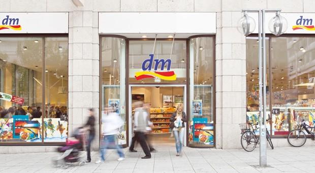 Eine dm-Filiale in Stuttgart.