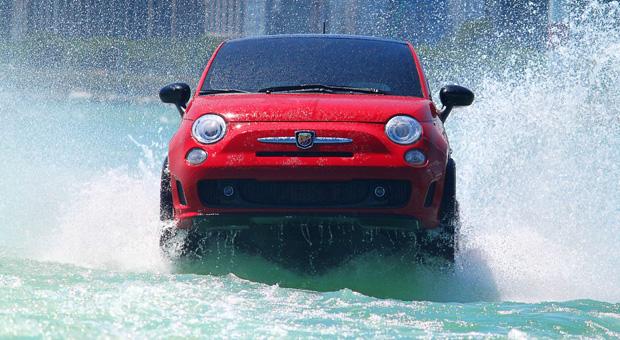 Hat ordentlich Power: das Fiat-Wassergefährt.