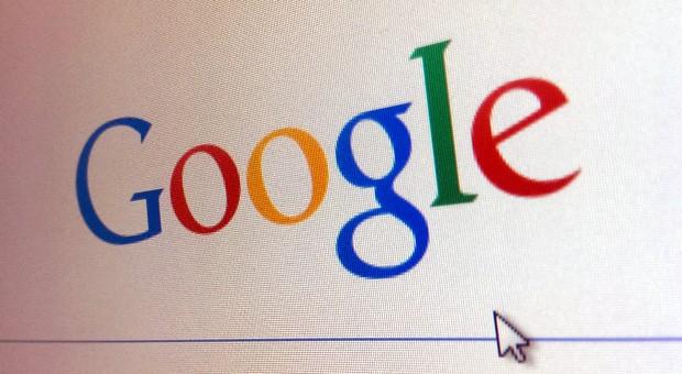 Die Webseite von Google.