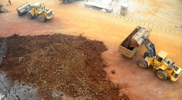 Unter anderem in Lianyungang im Osten des Landes fördert China seltene Erden.