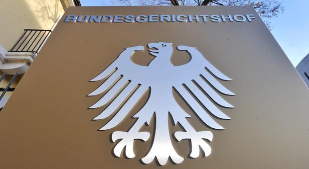 Außenaufnahme des Bundesgerichtshofs in Karlsruhe
