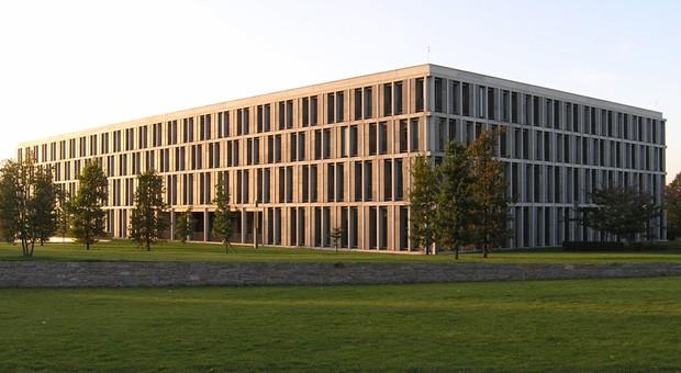 Der Sitz des Bundesarbeitsgerichts in Erfurt.