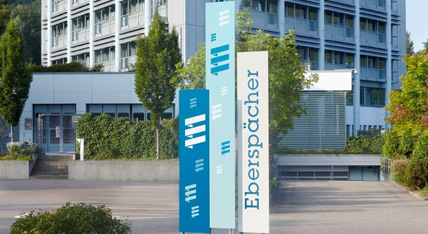 Das Forschungs- und Entwicklungszentrum von Eberspächer in Esslingen bei Stuttgart