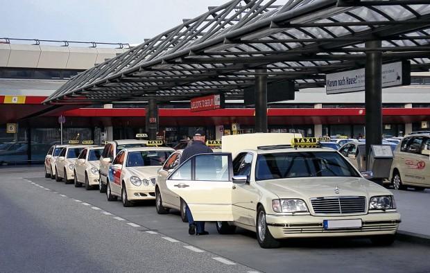 Taxis am Berliner Flughafen