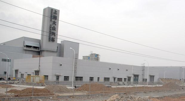 Das neue Werk von Volkswagen in der Uiguren-Region Xinjiang.