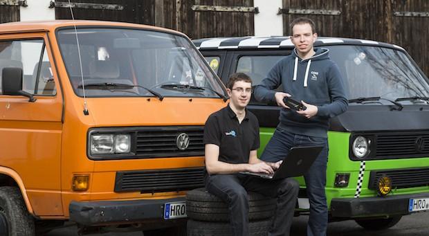 Die Gründer Paul Jütte und Nico Liebeskind