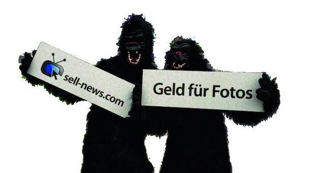 Der Gründer des Newsanbieters sell-news.com steckte Studenten in Affenkostüme und ließ sie auf einer Frankfurter Straße tanzen. Das brachte 250 neue User.