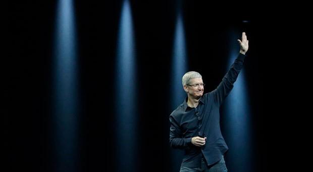 Apple-Chef Tim Cook auf der Entwickler-Konferenz WWDC am Montag in San Francisco