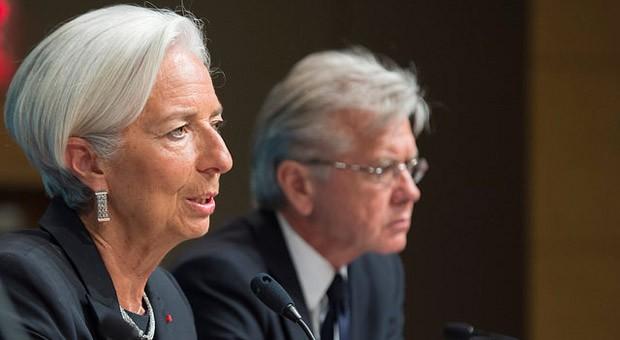 IWF-Chefin Christine Lagarde stellte den Bericht zur US-Wirtschaft am Montag in Washington vor.