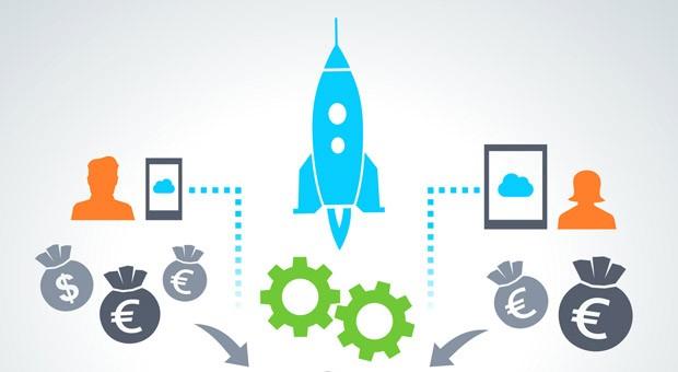 Crowdfunding: Wenn viele Investoren Geld geben.