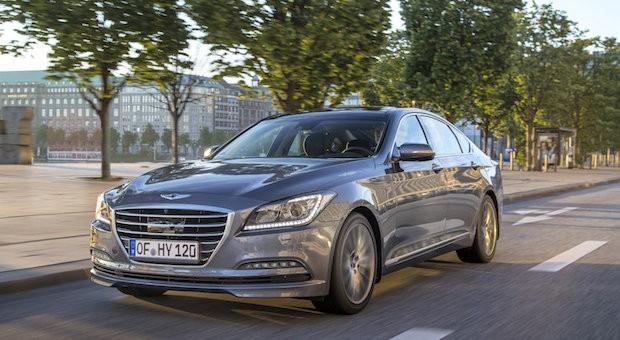 Mit dem Genesis will Hyundai in die Oberklasse.
