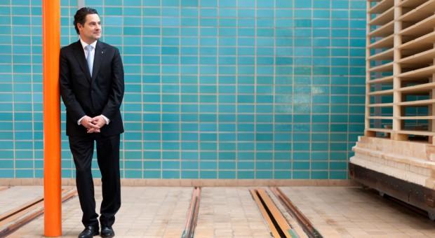 Christian Kurtzke, Geschäftsführer der Staatlichen Porzellan-Manufaktur Meissen