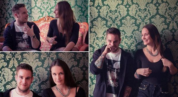 Die Gründer der Crowdfunding-Plattform Piggybankgirls: Christian Iff und Anna Keller